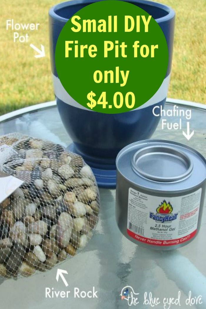 How to make your own small fire pit small fire pit for How to make a small fire