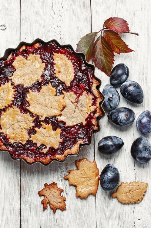 Autumn plum tart by nikolay_2002  IFTTT 500px