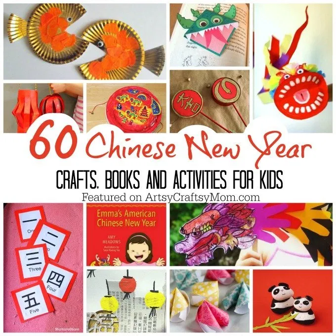 The Best 60 Chinese New Year Crafts and activities for kids - Artsy Craftsy Mom