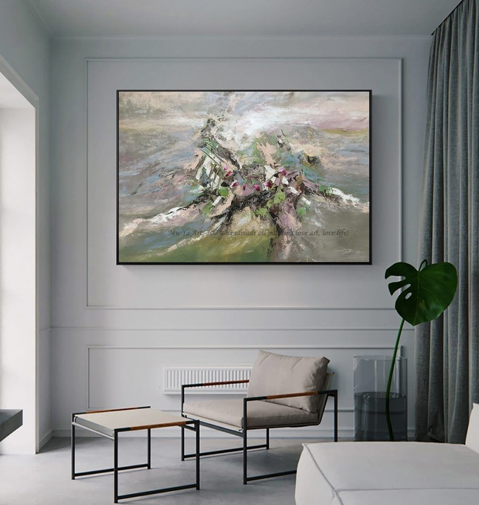 Abstract Original Art Oil Painting Original Oil On Canvas Painting Acrylic For Bedroom Living Room Modern Wall Decor Home Decor In 2021 Modern Wall Decor Canvas Painting Oil Painting