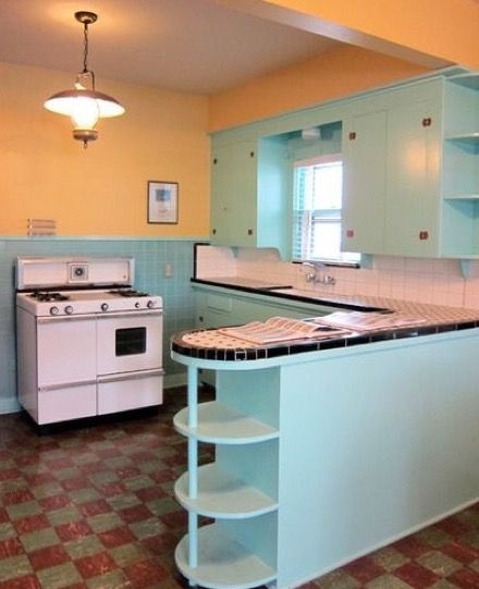 Pin by Sue Rutherford on Mid Century Kitchens in 2018 Pinterest