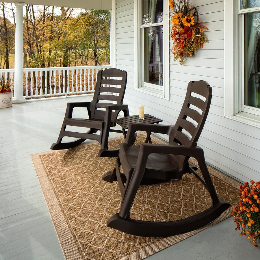 Adams Mfg Corp Stackable Plastic Rocking Chair(s) with
