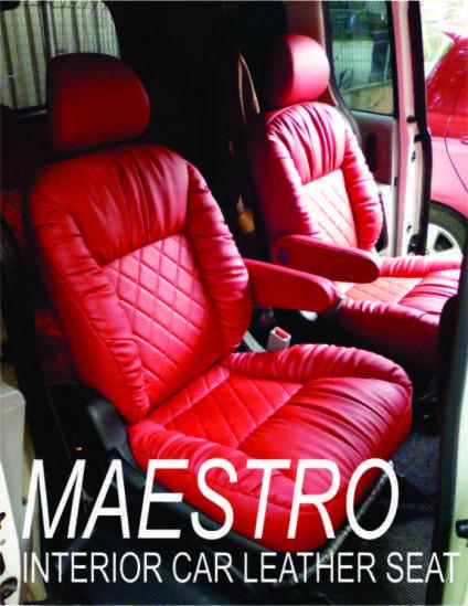 Tampilan interior Honda Freed dengan jok model garsson bahan MBTech on