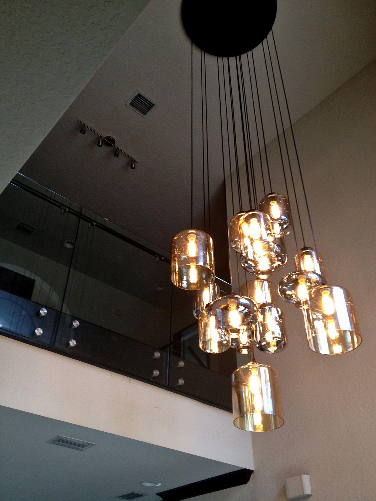 Custom Chandelier Modern Lighting Ideas Blown Glass