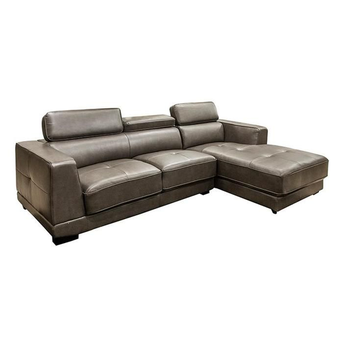 Garner 2 Piece Sectional in Saturn Gray
