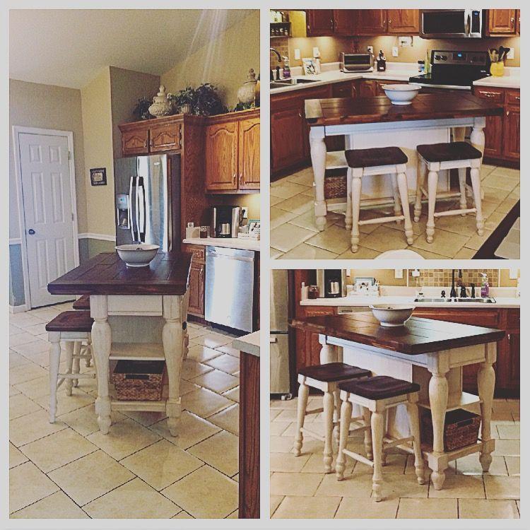My New Marsilona Kitchen Island From Ashley Furniture Eat In Kitchen Table Furniture Kitchen Inspirations