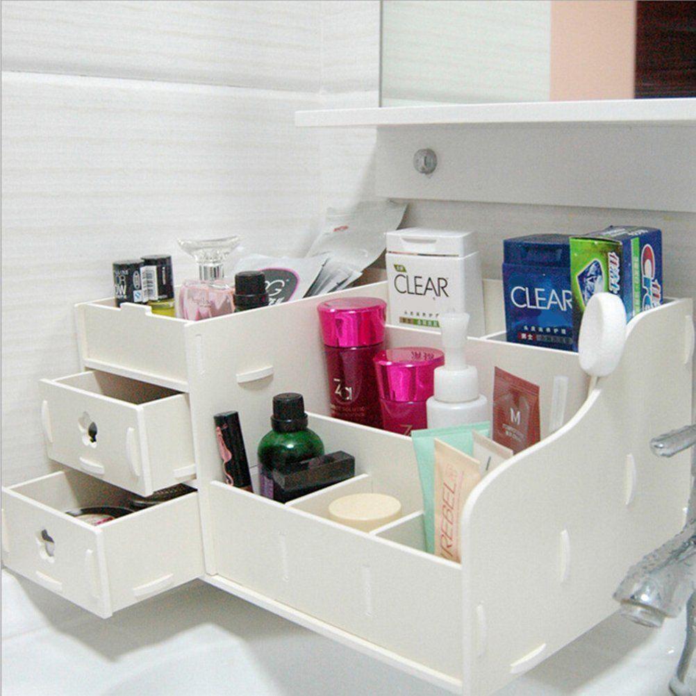 Caj n leorx caja organizador para maquillaje cosm ticos - Cajas de herramientas ...