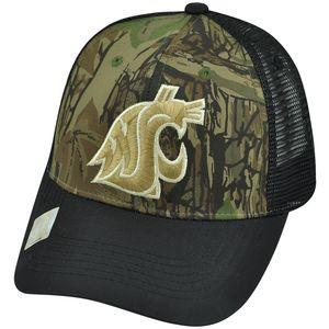online retailer de824 c1548 ... discount ncaa washington state cougars freshman trucker camouflage mesh snapback  hat cap d7558 8983c