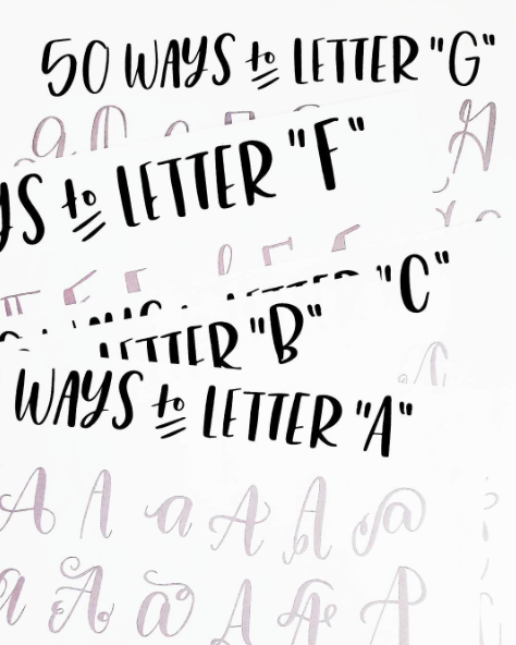 cool way to write letters Learn to write your own letters just in case you don't find the perfect letter, use our must-know tips, step-by-step instructions,.