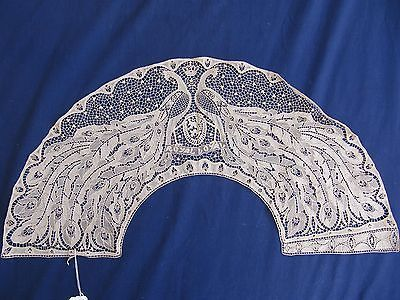 AN EXTREMELY RARE BELGIAN WAR LACE FAN LEAF IN THE ART NOUVEAU STYLE 1916   eBay