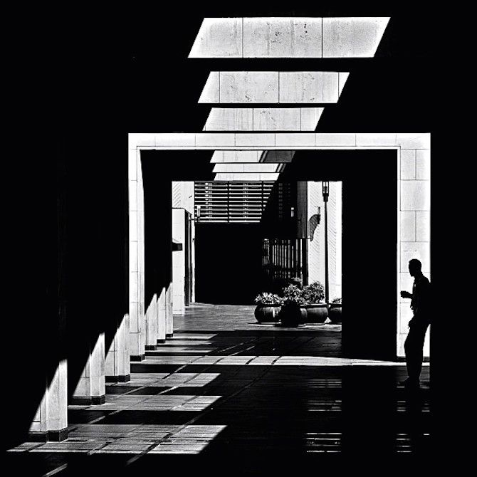 """The Architecture Of Light is part of architecture - Lebanese photographer Serge Najjar's (previously) series """"The Architecture of Light"""" explores the natural illumination of buildings around his native Beirut  His highcontrast black and white photo…"""