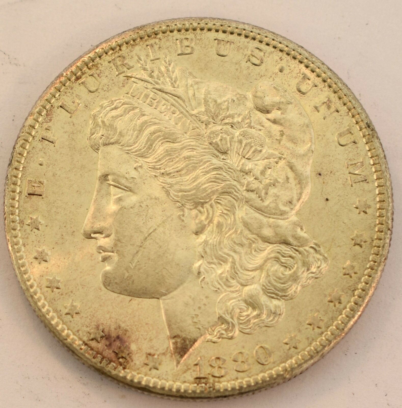 United States 1880 S Morgan Dollar Coin With Dimple Us Coin Ideas Of Us Coin Uscoin In 2020 Coins Dollar Coin Morgan Dollars