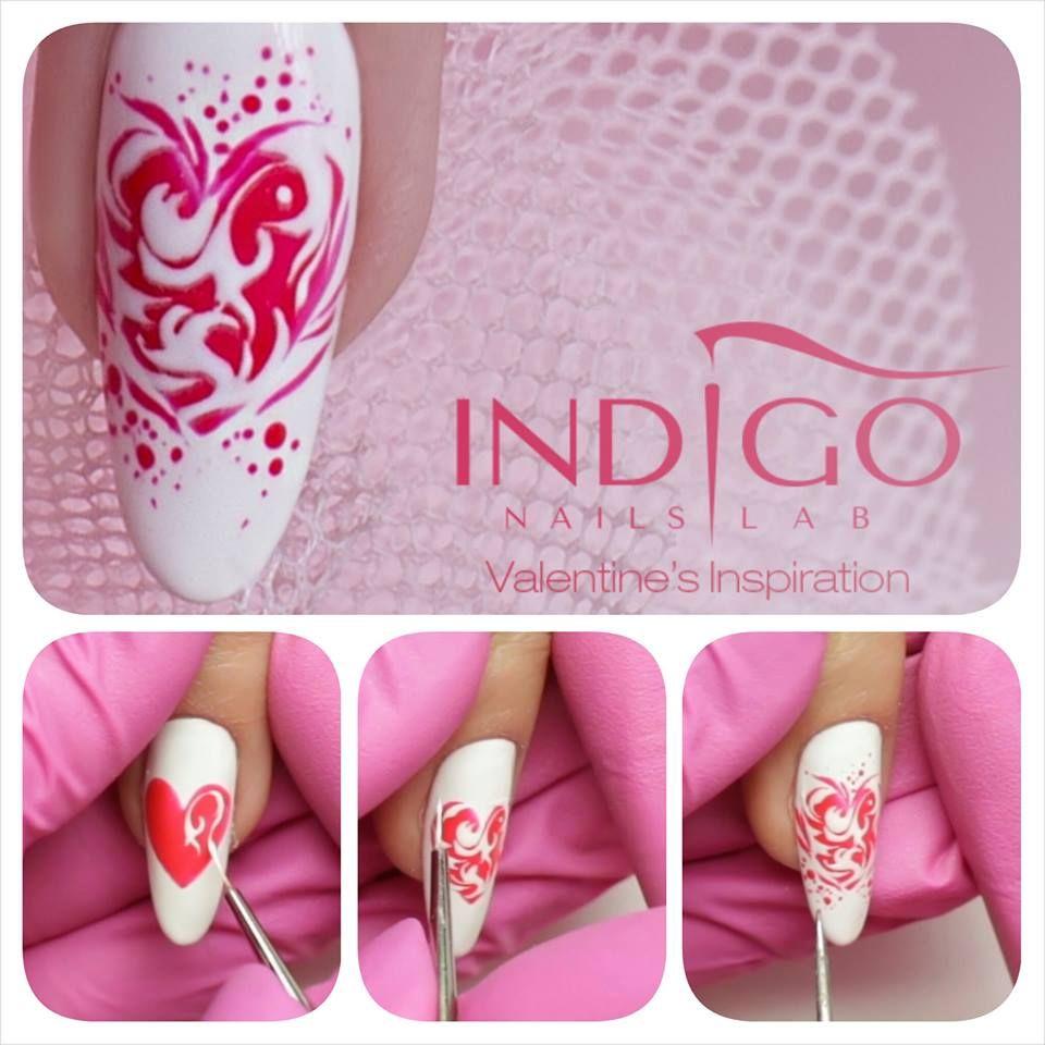 by Paulina Walaszczyk Indigo Nails Lab - Find more Inspiration at…