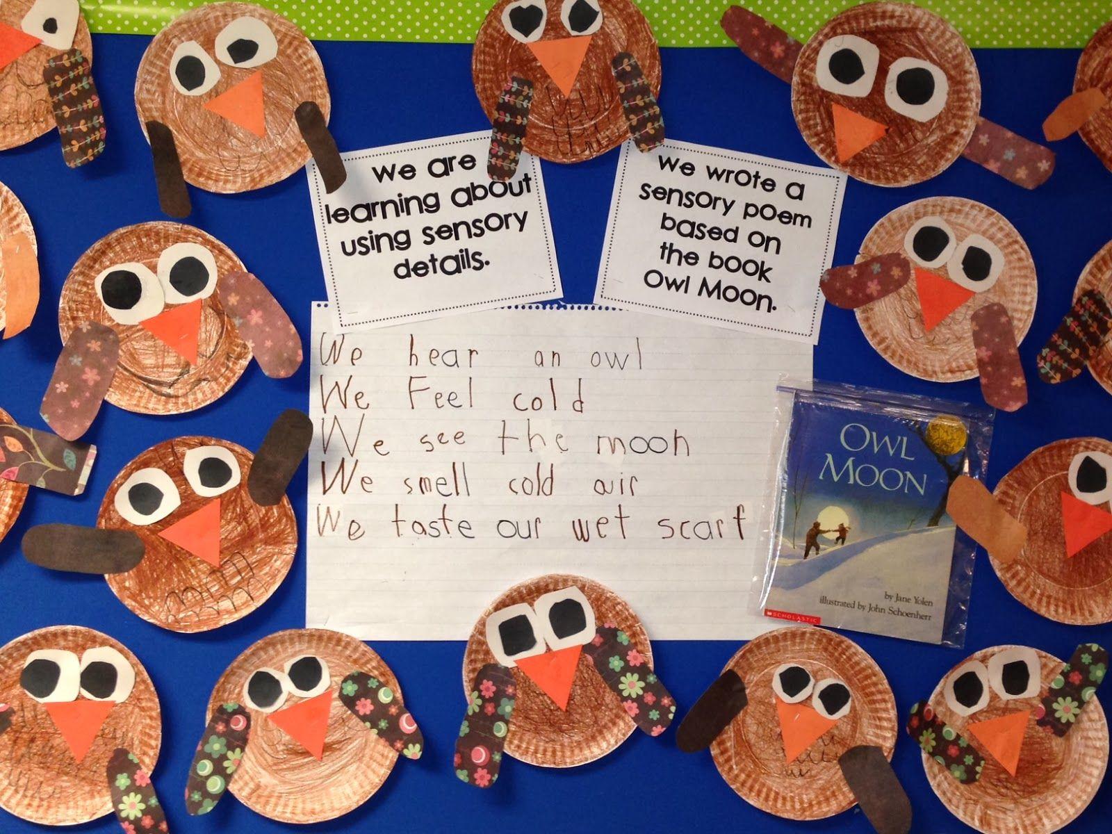 Sensory Details Poetry Chalk Talk A Kindergarten Blog