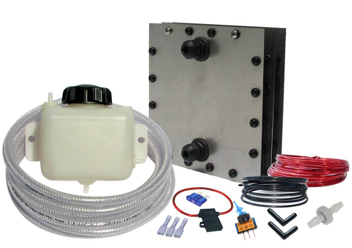 TrucKit - high output dry cell Hydrogen HHO generator kit