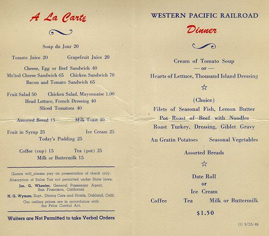 Social Events Menus From Branches: The Food Timeline--social History, Manners & Menus