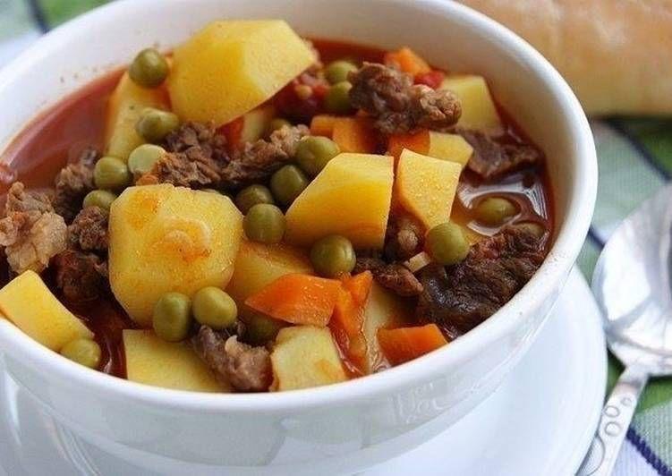 Жаркое с мясом и картофелем | Rezept | Essen, Rezepte, Türkei