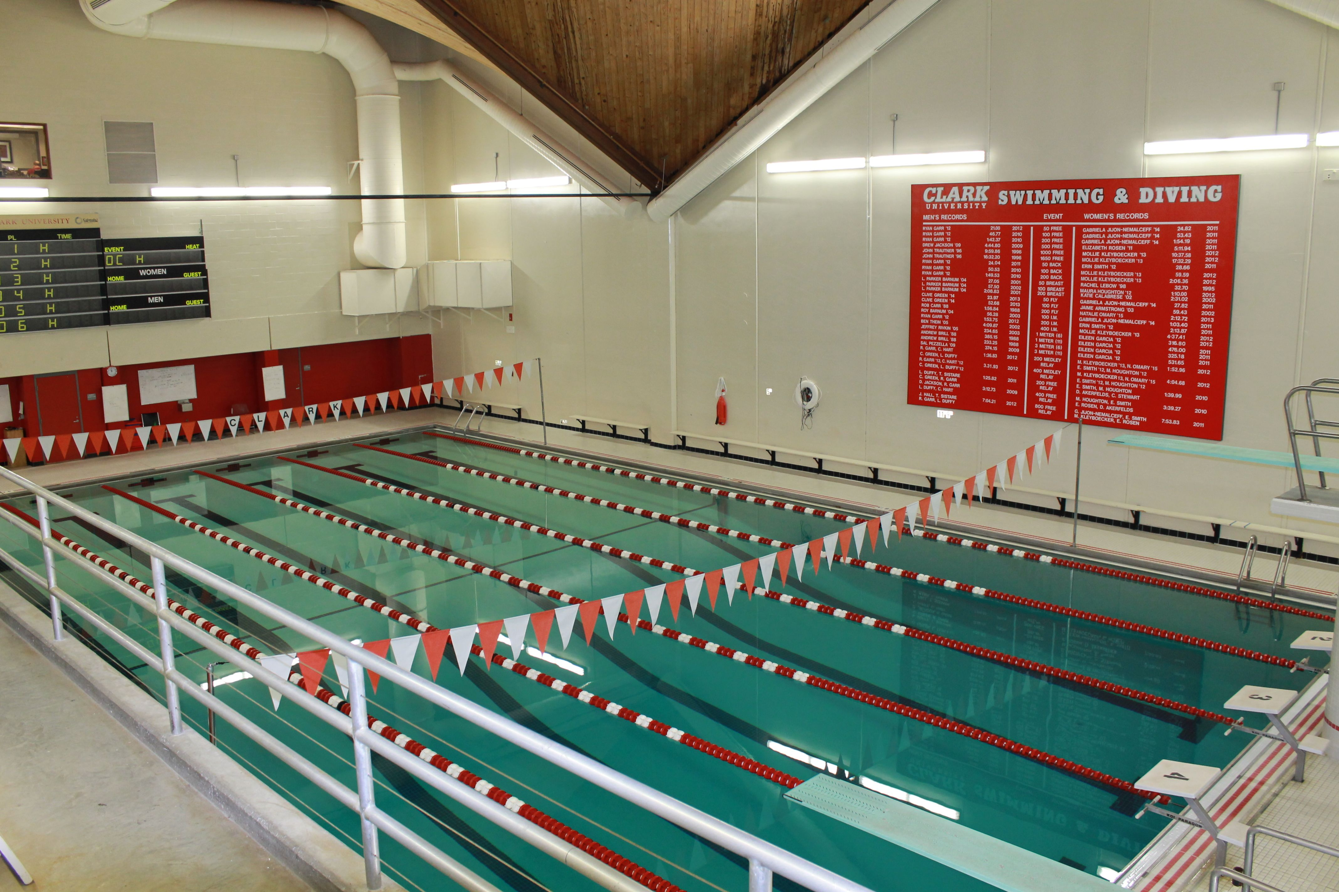 Home to the incredibly successful mens womens swimming