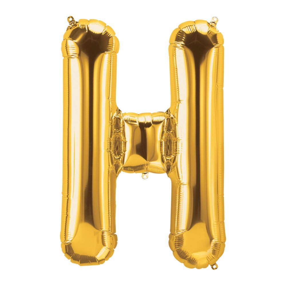 H Gold Letter 34 In 2021 Balloons Gold Letters Mylar Balloons