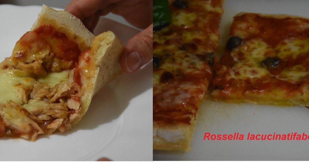 MTC N: 58 - ANCHE NO: Pizza tonno e cipolle e margherita di Rossella