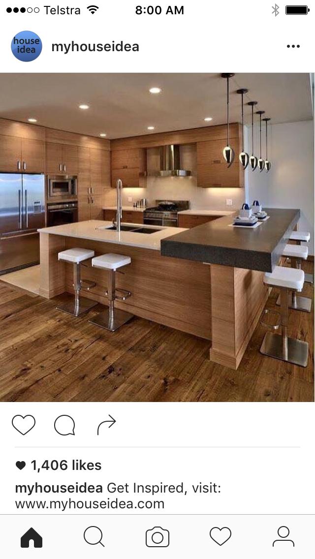 Pin de J Murnane en Kitchen | Pinterest | Cocinas, Casas de ensueño ...