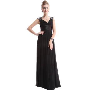 Ever-Pretty Ever Pretty Chiffon Sexy V-neck Ruffles Empire Line Evening Dress 09672