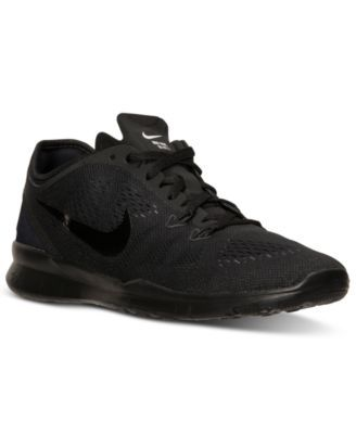 new arrival 97334 479a5 Nike Women s Free 5.0 TR Fit 5 Training Sneakers from Finish Line - Finish  Line Athletic Shoes - Shoes - Macy s