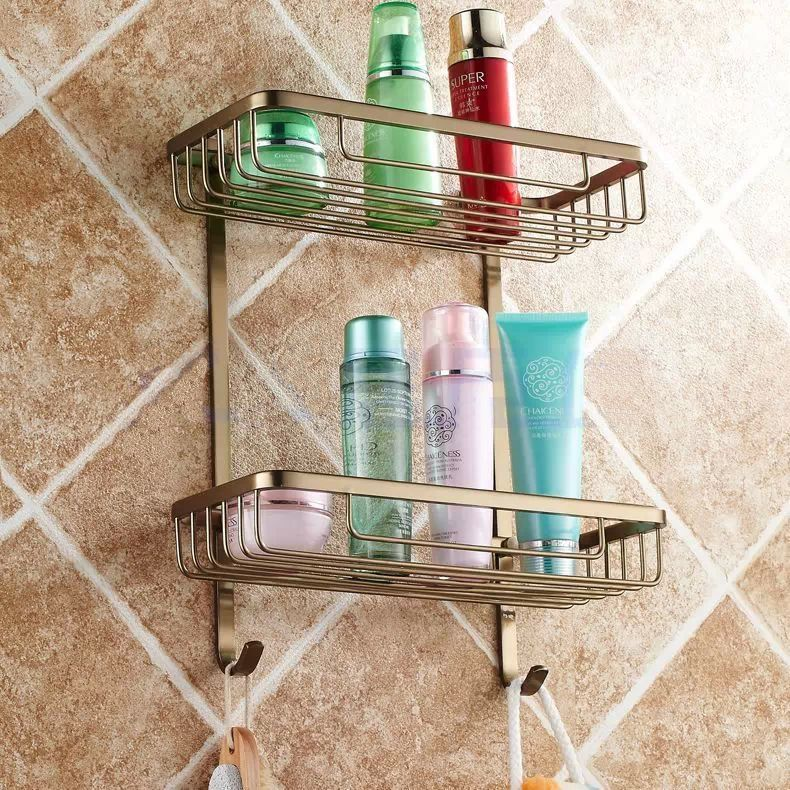 Effigy Of Simple Shampoo Rack For Shower
