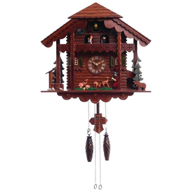 Kel Cuckoo Clock With Multiple Moving Figures