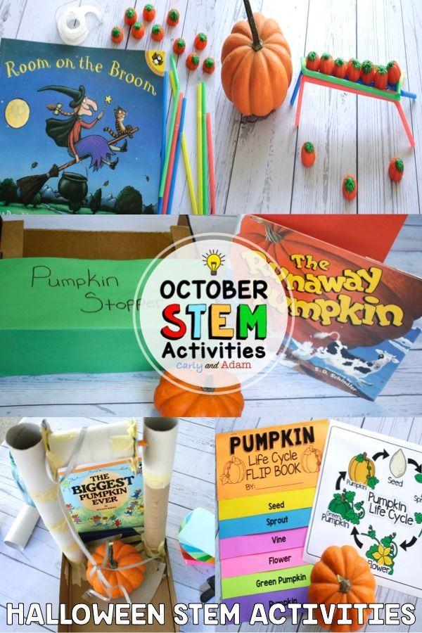 Halloween READ ALOUD STEM™ Activities and Challenges BUNDLE #stemactivitieselementary