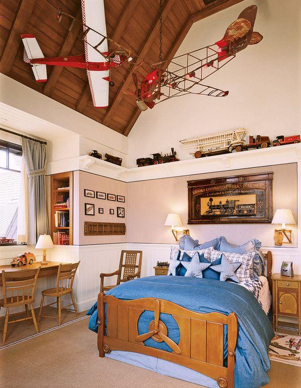 Детская комната в доме в Колорадо, дизайнер Артур Чабон.