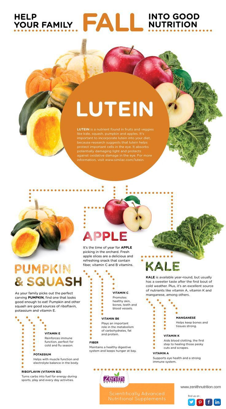 Fruits And Vegetables Containing Vitamin E Help your family fall into good nutrition lutein protect your eyes protect your eyes with lutein fruits and vegetables rich in lutein pumpkin and squash vitamin e potassium riboflavin vitamin b2 apple vitamin workwithnaturefo