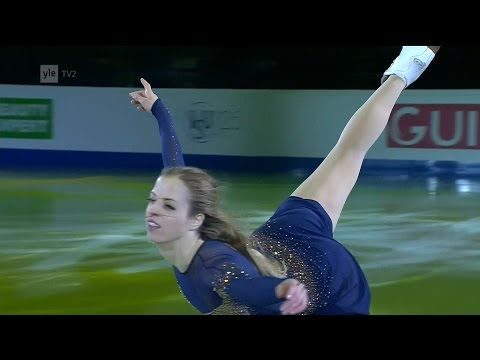 Carolina KOSTNER FS GP NHK Trophy 2017 - YouTube