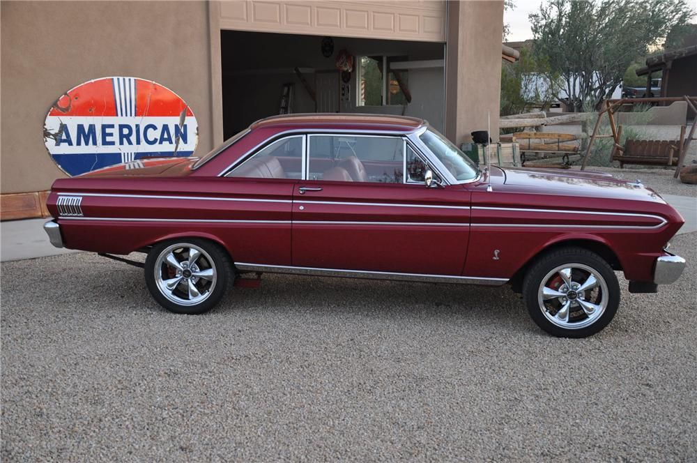 1964 Ford Falcon Custom 2 Door Hardtop Side Profile 139189 Ford Falcon 1964 Ford Falcon Ford Classic Cars