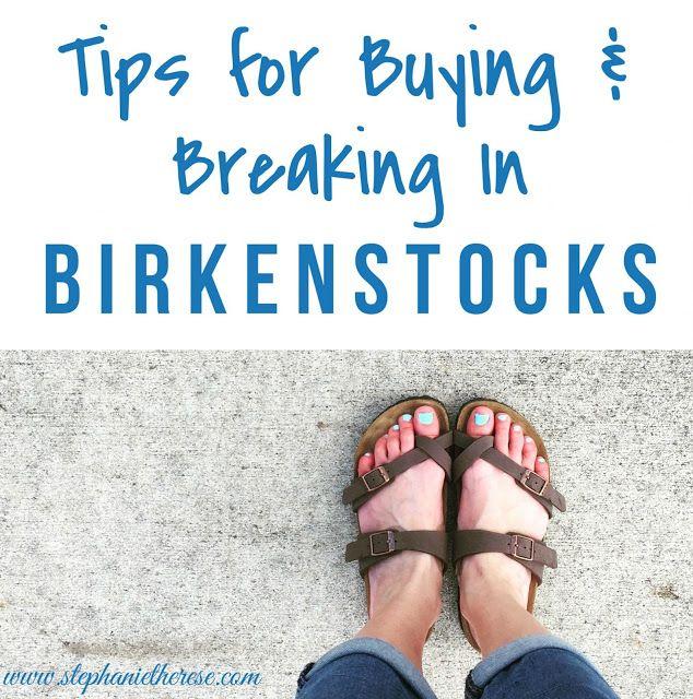 Tips for Buying and Breaking In Birkenstocks | InfluenceHer