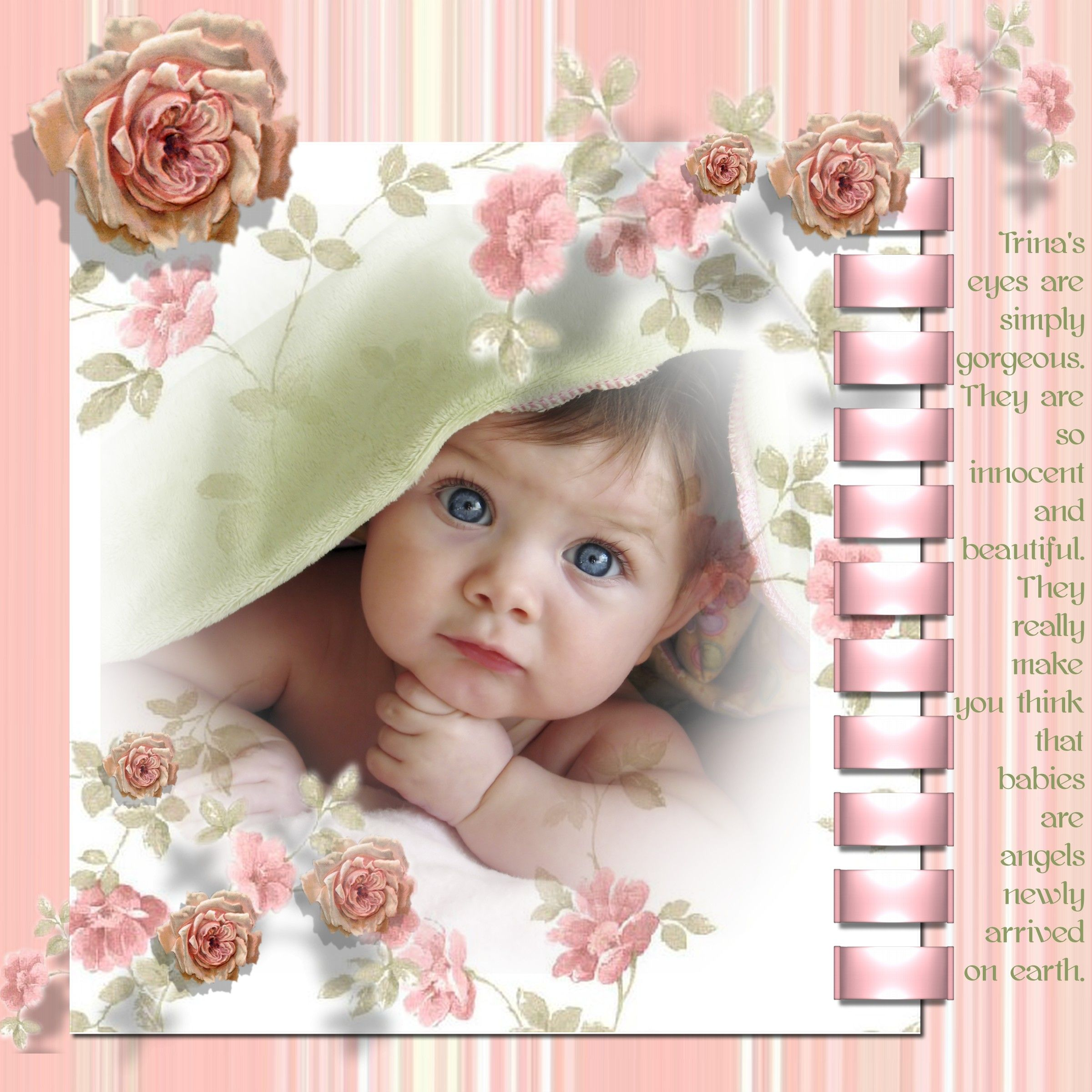 Baby scrapbooking ideas media kit scrapbook max digital scrapbooking software girl - Scrapbooking idees pages ...