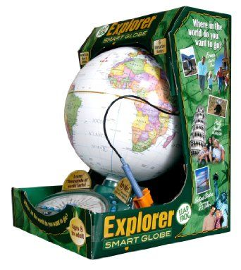 Amazon.com: LeapFrog® Explorer Smart Globe: Toys & Games