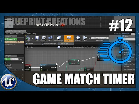 Creating A Game Match Timer 12 Unreal Engine 4