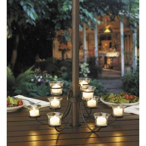 Etonnant Patio Umbrella Candle Holder, Available From Richu0027s For The Home.