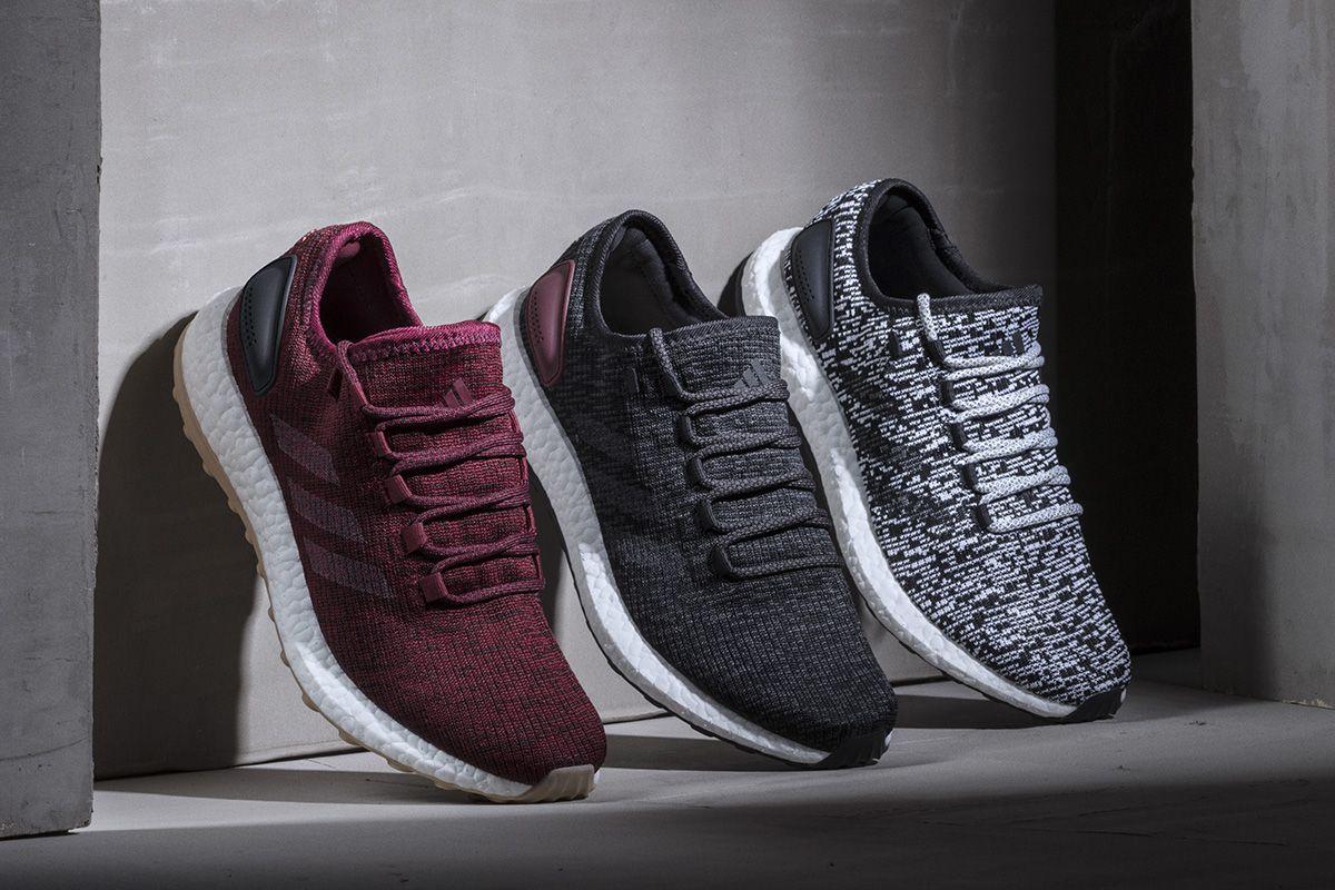 adidas Pure Boost's Colorway Lineup Includes Dark Red - EU Kicks: Sneaker  Magazine