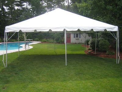 Party Canopy 20x20 Pick Up Only Tent Rentals Backyard Design Tent