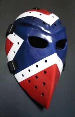 Wayne Thomas Vintage Goalie Mask Hockey Rangers Style Goalie Mask Goalie Hockey
