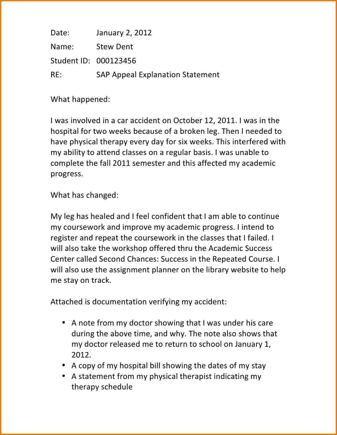 Valid Sap Appeal Letter Sample Download Https Letterbuis Com Valid Sap Appeal Letter Sample Download Lettering Letter Example Letter Sample