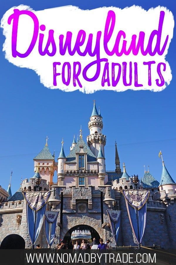 The Grown-up's Guide To Disneyland For Adults