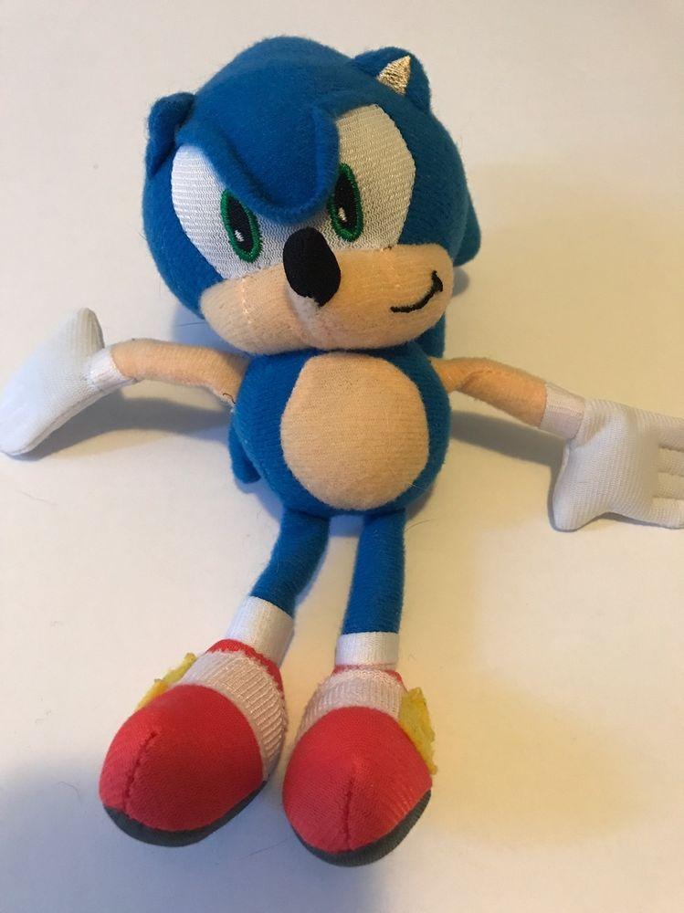 Sega Sonic The Hedgehog 9 034 Plush Ebay Hedgehog Sonic The Hedgehog