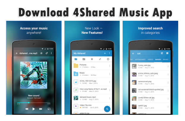 Looking For Ways To Download 4shared Music Get 4shared Music App Or