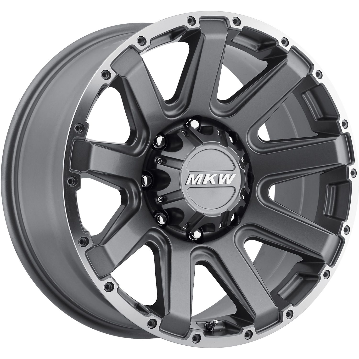 20x9 Gray MKW froad M94 6x5 5 10 Wheels 35X12 5X20 Tires