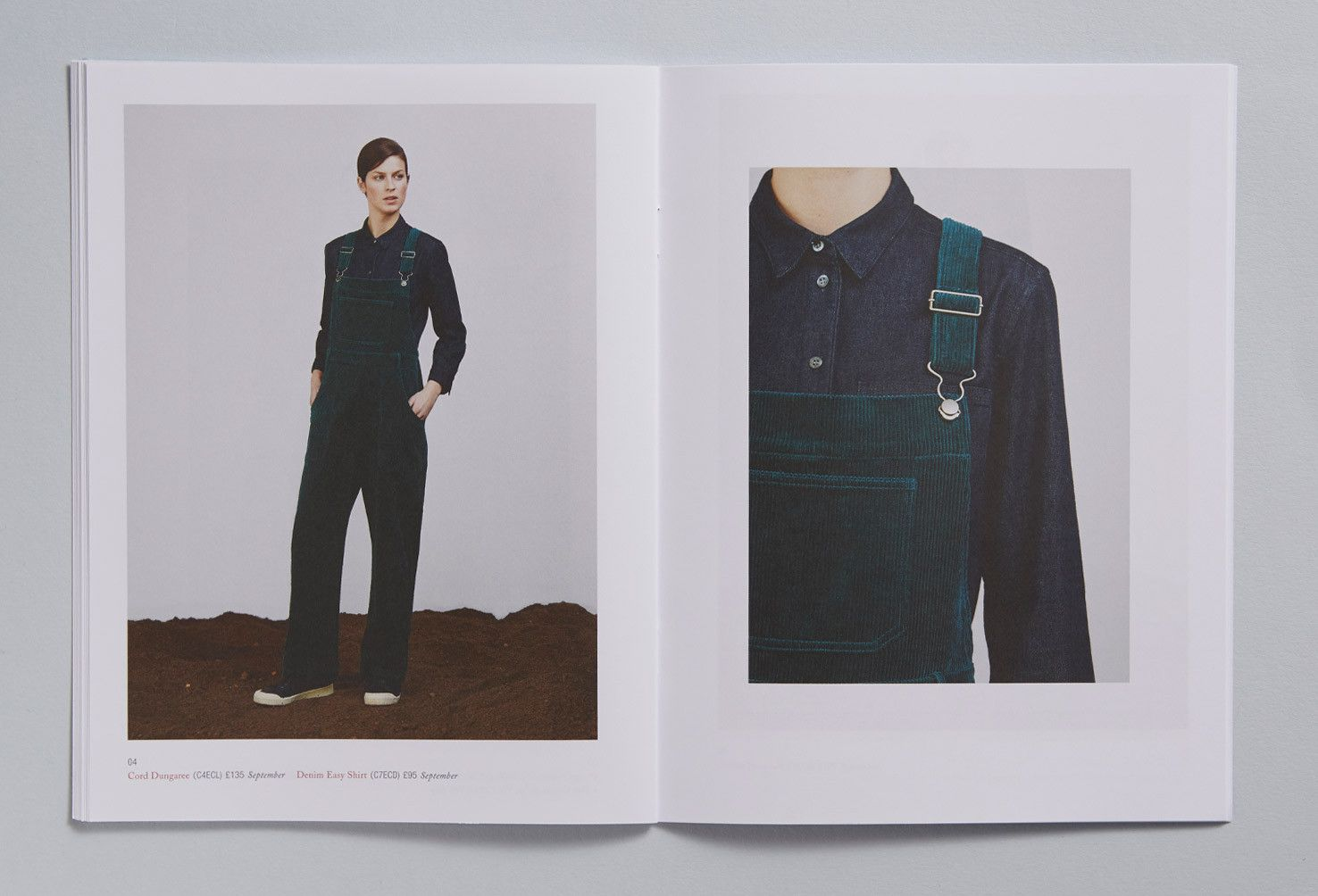 Role: Art Direction and Design - Toast – AW15 Press Book | Charlotte Heal Design