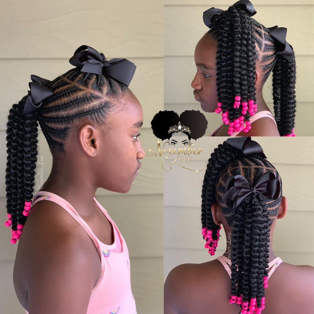 November Love On Instagram Children S Crochet Braid Styles Booking Link In Bio Childrenhairs Kids Hairstyles Kids Braided Hairstyles Black Kids Hairstyles