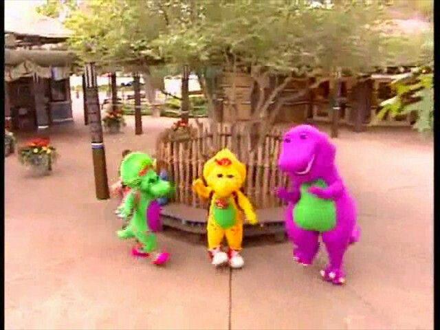 Barney Let S Go To The Zoo Barney Friends Christmas Ornaments Barney